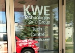 image of door with technology centre written on it